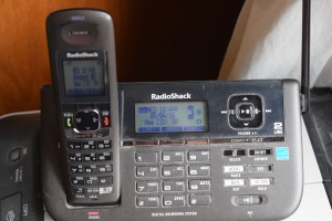 Yes, we still have a land line. No, we are not 80 years old.