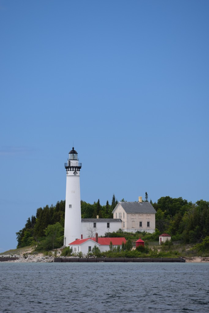 The lighthouse at South Manitou Island. Strongly considering an all-lighthouse blog.