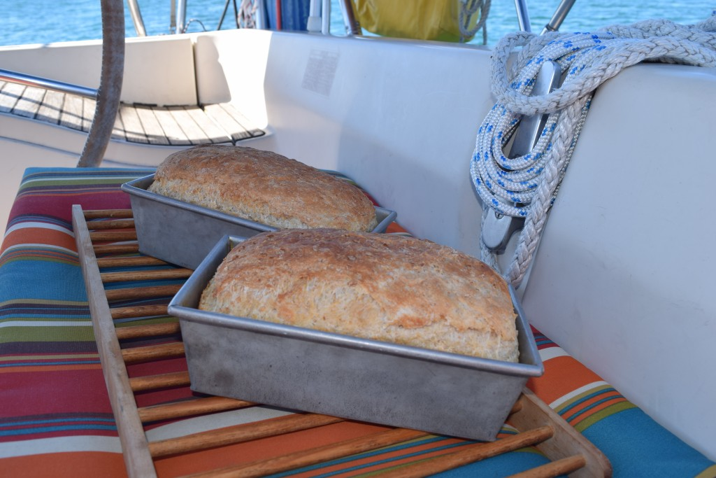 First batch of boat bread! A sure sign that things are coming together over here.