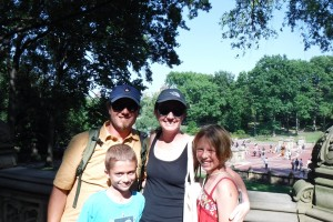 Central Park, post-ice cream