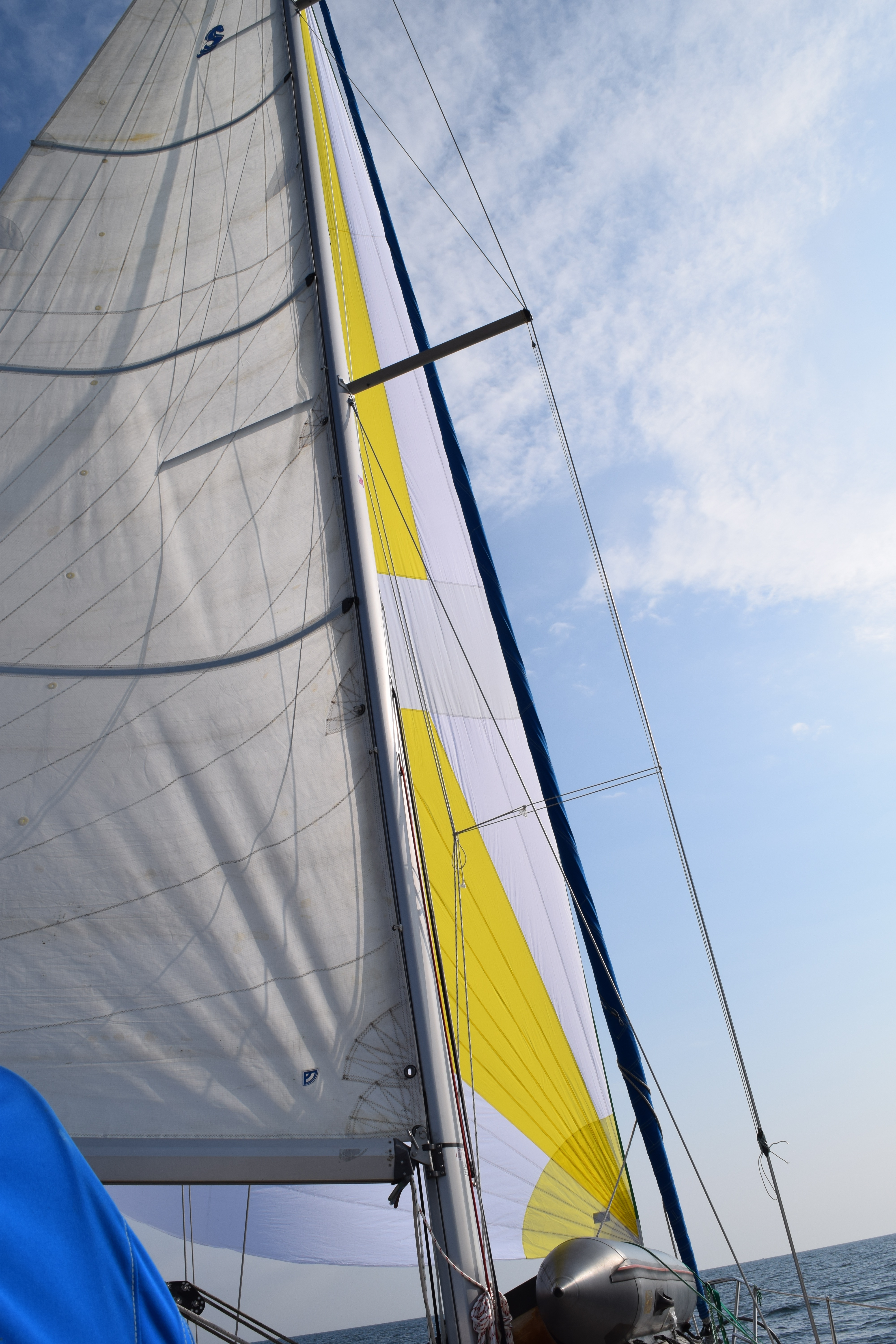The Complicated Math Of Putting Up The Sails