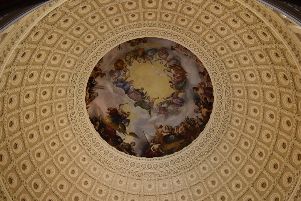 Capitol dome, looking up