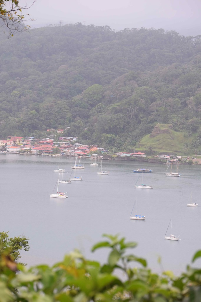 The bay at Portobelo