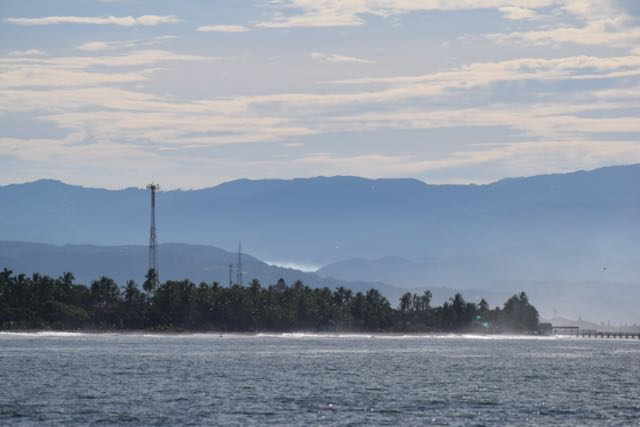 Approach to Puntarenas