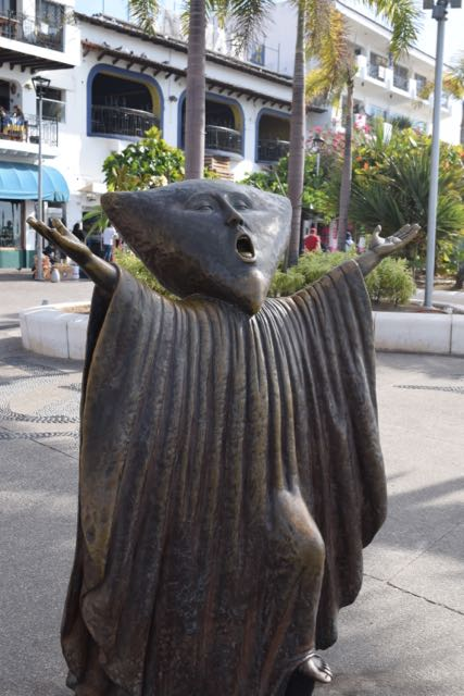 My feelings about free public art, personified by a statue