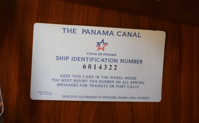 Canal number stays with the boat for life. Man, that seems like a long time ago!