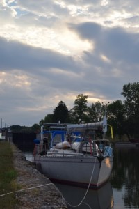 Free dock space on the Erie Canal